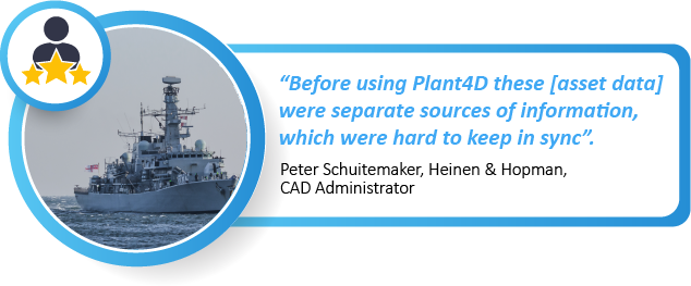 User case study: Connecting with asset data at sea