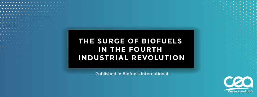 The surge of biofuels in the fourth industrial revolution